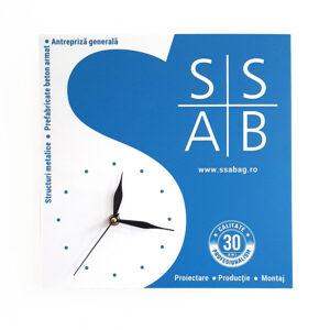 Ceas perete constructor SSAB-AG