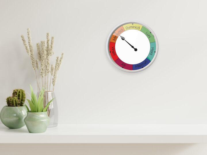 ceas ce arata in ce zi suntem