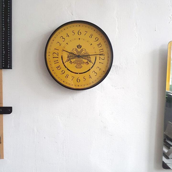 ceas perete bizantin 24 ore