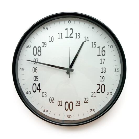 ceas perete 24 ore classico diametru 38 cm