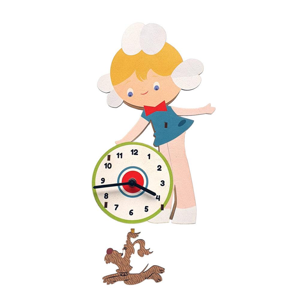 Mihaela cu azorel ceas perete pendulă