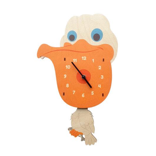 Pelicanul ceas perete pendulă