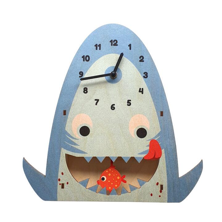 Sharky ceas pendulă pentru camera copii