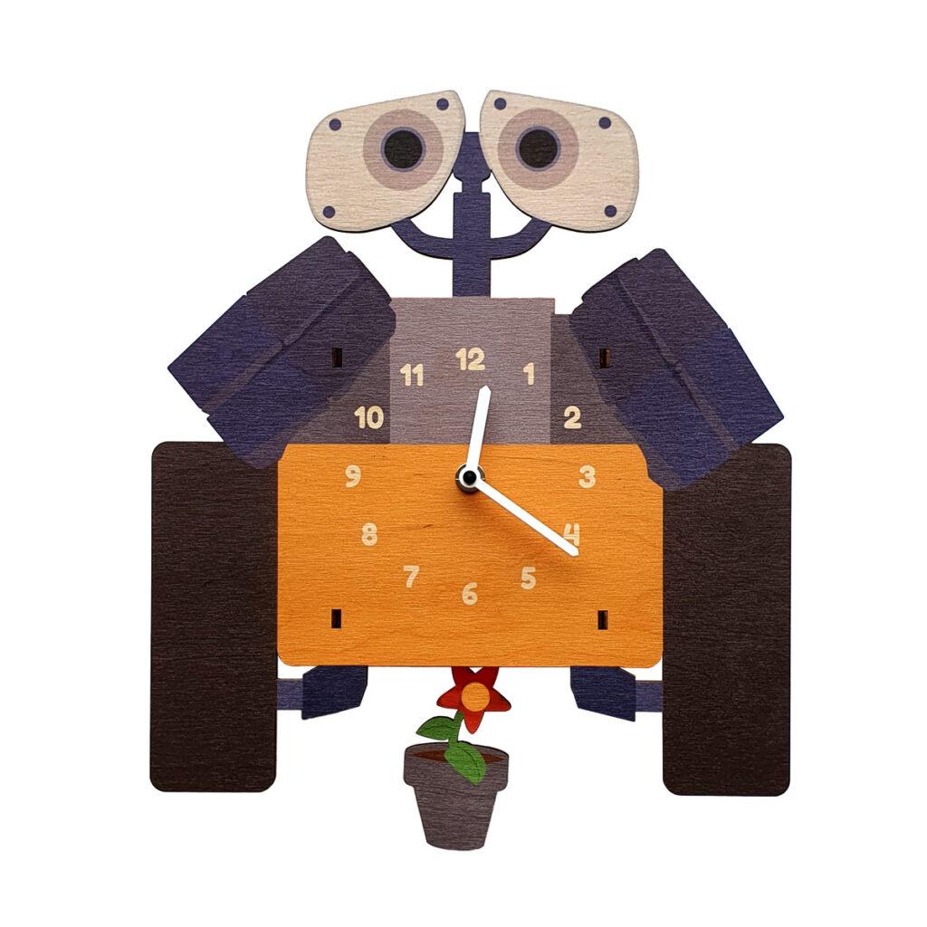 Wall-e ceas pendulă dormitor copii