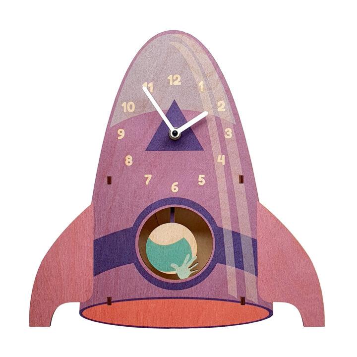 Vostok ceas perete nava spatiala