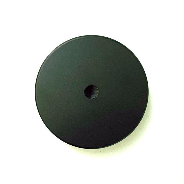 masca negru mat ceas perete